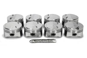 ICON PISTONS #IC547C.030 LS 5.3L Domed Forged Piston Set 3.780 Bore