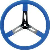 QUICKCAR RACING PRODUCTS #68-0042 17in Steering Wheel Steel Red