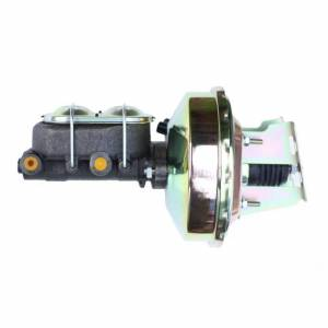 LEED BRAKES #3Q1 9in Brake Booster Zinc 1-1/8in Bore MC