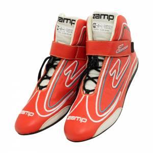ZAMP #RS003C0208 Shoe ZR-50 Red Size 8 SFI 3.3/5