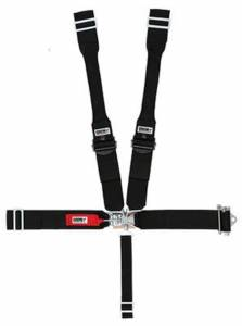 CROW ENTERPRIZES #40084PRB Seat Belts 5 Point With Ratchet Left Side 5-Way