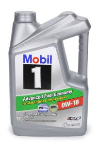 MOBIL 1 #MOB124322-1 Mobil 1 Synthetic Oil 0w16 5 Quart Jug