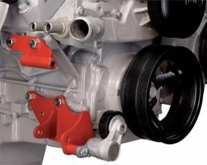 ALAN GROVE COMPONENTS #144R LS Engine Low A/C Compressor Bracket