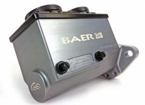BAER BRAKES #6801238LP ReMaster Master Cylinder 1in Bore Left Port Gray