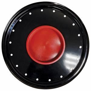 BASSETT #3COVK Wheel Cover Black Full Metal Jacket