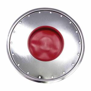 BASSETT #3COVKS Wheel Cover Silver Full Metal Jacket