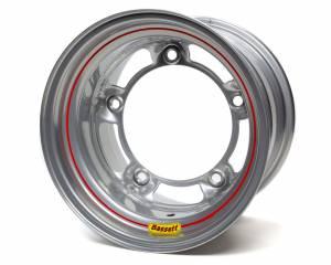 BASSETT #50SR5S-LW 15x10 Wide 5 5in BS L/W Silver