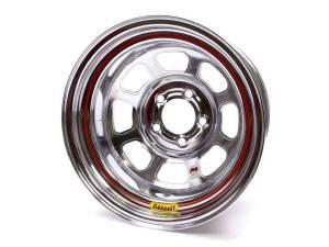 BASSETT #58D53IC 15x8 Chrome Wheel 5x5 3in BS