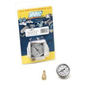 BBK PERFORMANCE #1617 Fuel Pressure Gauge - 0-60psi - Liquid Filled