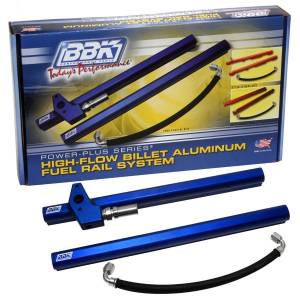 BBK PERFORMANCE #5017 Hi-Flow Billet Alum. Fuel Rail Kit - Ford