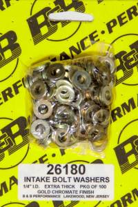 B and B PERFORMANCE PRODUCTS #26180 H/T Special Washers - 1/4in .540in OD (100)