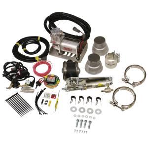 BD DIESEL #1028130 Exhaust Brake Universal 3in w/Air Compressor