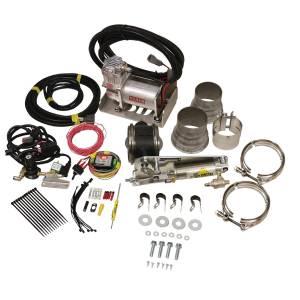 BD DIESEL #1028135 Exhaust Brake Universal 3.5in w/ Air Compressor