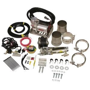 BD DIESEL #1028140 Exhaust Brake Universal 4in w/ Air Compressor