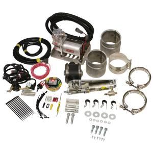 BD DIESEL #1028150 Exhaust Brake Universal 5in w/ Air Compressor