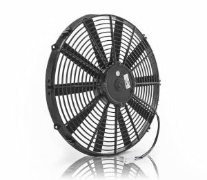 BE-COOL RADIATORS #75014 16in Puller Fan Straight Blade