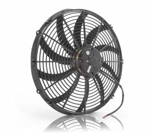 BE-COOL RADIATORS #75042 16in Puller Fan Curved Blade