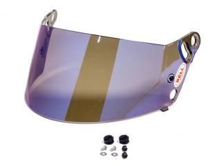 BELL HELMETS #2010205 Blue Mirror Shield SRV-8 3mm