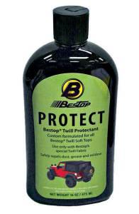 BESTOP #11207-00 Bestop Protectant for Blk Twill Soft Top 16oz