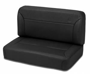 BESTOP #39437-15 Black Denim II Fixed Be nch Seat Rear