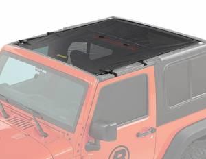 BESTOP #52412-11 Safari Style Bikini Top 18-20 Jeep Wrangler JL