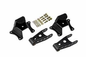 BELL TECH #6800 73-87 GM C10 P/U 4in Shackle & Hanger Kit