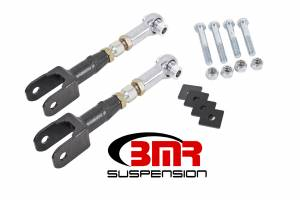 BMR SUSPENSION #TR005H 15-17 Mustang Toe Rods Rear On-Car Adjustable