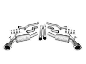 BORLA #140280 10-11 Camaro 6.2L V8 Cat Back System