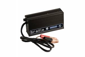 BRAILLE AUTO BATTERY #12310L Lithium Battery Charger 10amp  Micro-Lite
