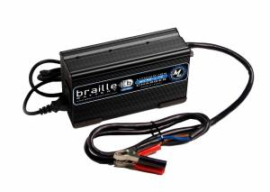 BRAILLE AUTO BATTERY #12325L Lithium Battery Charger 25amp  Micro-Lite