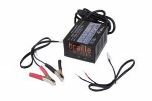 BRAILLE AUTO BATTERY #1232 Electronic Batt Charger 2 amp