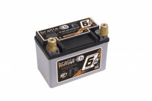 BRAILLE AUTO BATTERY #B106 Racing Battery 6.6lbs 527 PCA 5.8x3.4x4.1