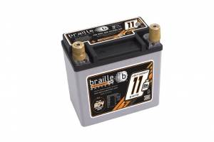 BRAILLE AUTO BATTERY #B14115 Racing Battery 11.5lbs 904 PCA 5.8x3.3x5.8