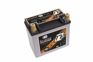 BRAILLE AUTO BATTERY #B2317RP Racing Battery 17lbs 1191 PCA 6.8x4.0x6.1