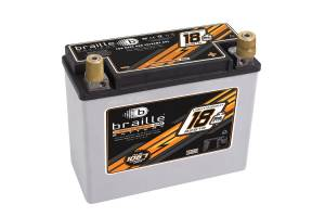 BRAILLE AUTO BATTERY #B2618 Racing Battery 18lbs 1168 PCA 8.1x3.5x6.3