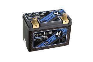 BRAILLE AUTO BATTERY #ML9C Lithium 12 Volt Battery Micro Lite Carbon