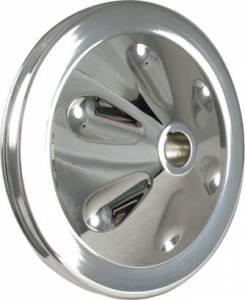 BORGESON #801202 Power Steering Pump Pulley 4-5/8in Diameter