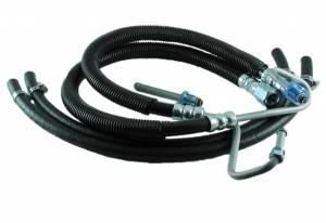 BORGESON #925117 97-02 Dodge Diesel Power Steering Hose Kit