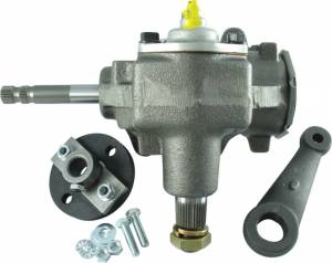 BORGESON #999004 Power To Manual Steering Box Conversion Kit