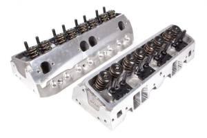 BRODIX #1321001 SBC 225cc D/S Heads 68cc 2.08/1.60 Assembled
