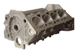 BRODIX #BRS400035842S SBC Cast Iron Block 4.000 Bore 350 Mains