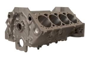 BRODIX #BRS412535842 SBC Cast Iron Block 4.125 Bore 350 Mains
