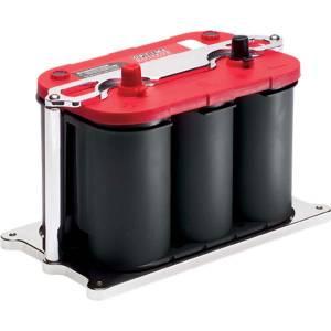 BILLET SPECIALTIES #248915 Optima Battery Mount Polished