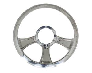 BILLET SPECIALTIES #30765 Chicayne Half Wrap Steering Wheel