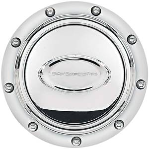 BILLET SPECIALTIES #32710 Horn Button Riveted Polished Logo