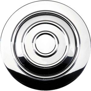 BILLET SPECIALTIES #32925 Horn Button Large Banjo Polished