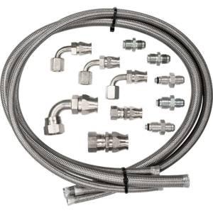 BILLET SPECIALTIES #77900 Power Steering Hose Kit