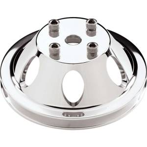 BILLET SPECIALTIES #78110 SBC/BBC 1 GRV WP Pulley For LWP Polished