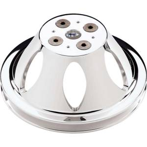 BILLET SPECIALTIES #82120 Polished BBC 1 Groove Upper Pulley