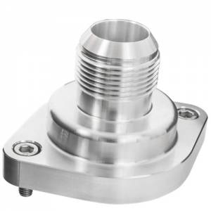 BILLET SPECIALTIES #90900 LS Thermostat Housing w/ 16AN Male Nipple Anodizd